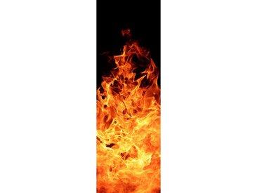 Papermoon PAPERMOON Glas-Infrarotheizung »EcoHeat«, Motiv Fireplace, 500 W, rahmenlos, bunt, bunt