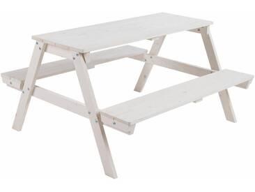 Roba® Roba Kindersitzgruppe, »Picknick for 4, weiß«, weiß, weiß