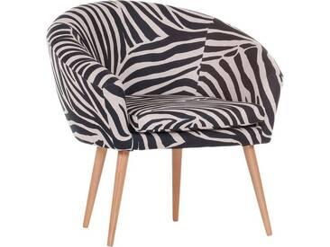 Gutmann Factory Sessel »Pietro« in toller Farbvielfalt, weiß, Zebra druck