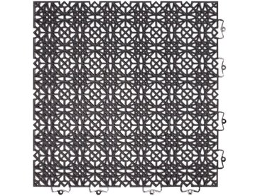 Andiamo ANDIAMO Klick-Fliesen »Terra Sol«, 7 Stk., BxL: je 38x38 cm, schwarz, schwarz