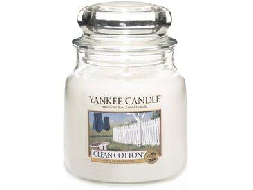 Yankee Candle Duftkerze »Classic Housewarmer Mittel Clean Cotton«