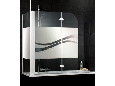 Schulte Badewannenaufsatz »Liane«, weiß, ohne Antikalk-Versiegelung, weiß