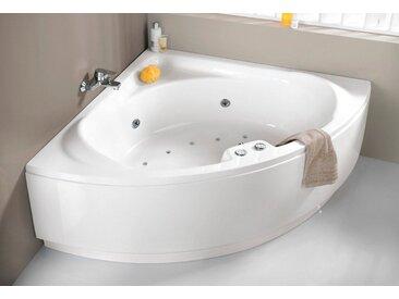 OTTOFOND Eckwanne »Laguna«, B/T/H in cm: 136/43/59; Whirlpool-System Premium, 136 cm