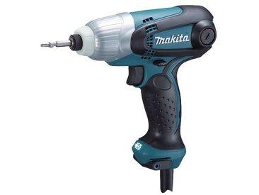Makita MAKITA Schlagschrauber »TD0101FJ«, 100 Nm im Makpac, blau, blau
