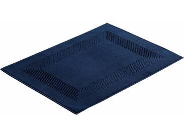 Vossen Badematte »New Generation« , Höhe 10 mm, fußbodenheizungsgeeignet, blau, 10 mm, marineblau