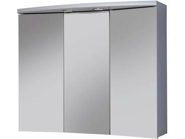 jokey Sieper Spiegelschrank »Ancona« Breite 83 cm, mit LED-Beleuchtung, silberfarben, aluminiumfarben