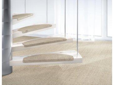 Dekowe Stufenmatte »Mara S2«, stufenförmig, Höhe 5 mm, natürliches Material, grau, 5 mm, kieselgrau