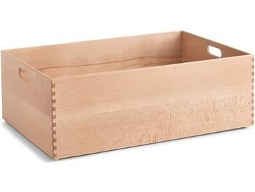 Zeller Present Holzkiste, für jeden Bedarf, natur, 60x40x21 cm, natur
