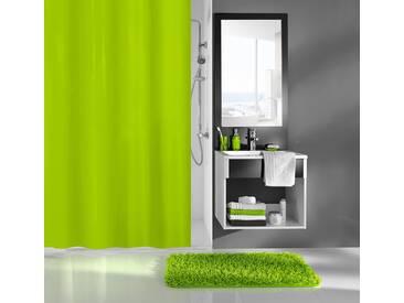 Kleine Wolke KLEINE WOLKE Duschvorhang »Uno«, Breite 180 cm, grün, grün