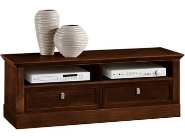 SELVA TV Lowboard »Sophia« Modell 5406, Breite 131 cm, braun, nussbaumfarbig dunkel