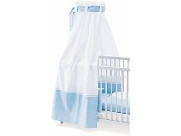 Pinolino® Pinolino Himmel für Kinderbetten, »Vichy-Karo, blau«, blau, bleu