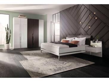 nolte® Möbel Schlafzimmer-Set »concept me 230«, mit Koffertüren, weiß, Komplettausführung inkl. Beleuchtung, Liegefläche 140x200, Schrankbreite 250, Liegefläche 140x200