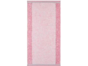 Cawö Badetuch »Marmor«, in marmorierter Optik, rosa, Walkfrottee, rosé