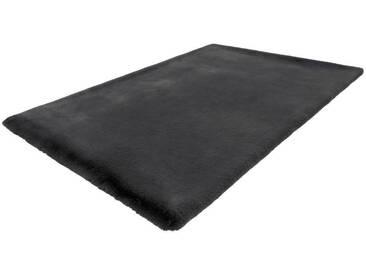 LALEE Hochflor-Teppich »Heaven 800«, rechteckig, Höhe 37 mm, besonders weich durch Microfaser, grau, 37 mm, graphit
