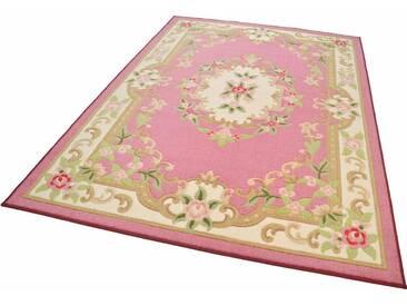 THEKO Orientteppich »Versailles 501«, rechteckig, Höhe 11 mm, rosa, 11 mm, rosa
