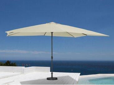 garten gut GARTEN GUT Sonnenschirm 300x400 cm, natur, 400x300 cm, cremefarben