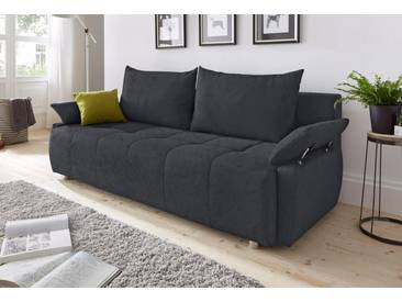 COLLECTION AB Schlafsofa, mit Federkern, inklusive Bettkasten, grau, 212 cm, anthrazit