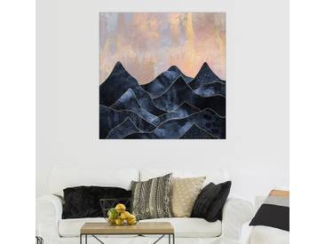 Posterlounge Wandbild - Elisabeth Fredriksson »Mountainscape«, bunt, Leinwandbild, 70 x 70 cm, bunt