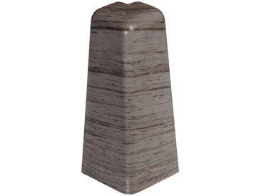EGGER Außenecke »Eiche anthrazit«, Außeneck-Element für 6 cm Sockelleiste, 2 Stk, grau, anthrazit