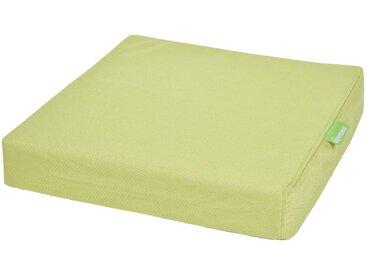 OUTBAG Auflage »Tile square pillow PLUS«, wetterfest und robst, für den Außenbereich, B/L: 45x45 cm, grün, 1 Auflage, grün