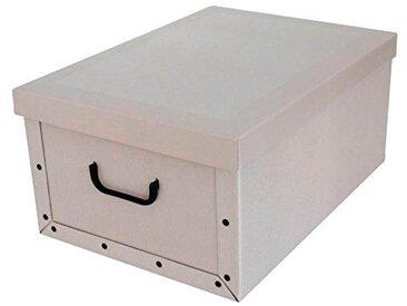 Kreher KREHER Aufbewahrungsbox »Classic Stripes«, natur, beige