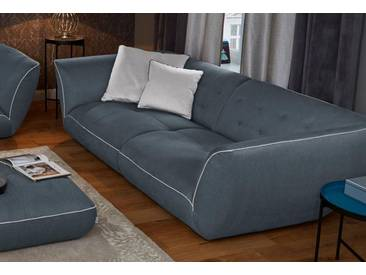 Guido Maria Kretschmer Home&Living Big-Sofa »Nida«, inklusive Zierkissen, grau, 276 cm, anthrazit/beige