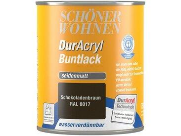 SCHÖNER WOHNEN-Kollektion Schöner Wohnen Farbe Buntlack »DurAcryl seidenmatt, 750 ml schokobraun«, braun, braun