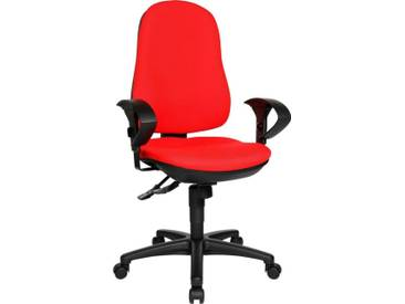 TOPSTAR Bürostuhl »Support SY«, rot, rot