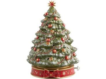 Villeroy & Boch Weihnachtsbaum mit Spieluhr »Toy's Delight«, grün, 33cm, grün