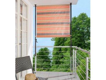 Angerer Freizeitmöbel ANGERER FREIZEITMÖBEL Balkonsichtschutz orange/braun, BxH: 150x225 cm, orange, 150 cm, orange