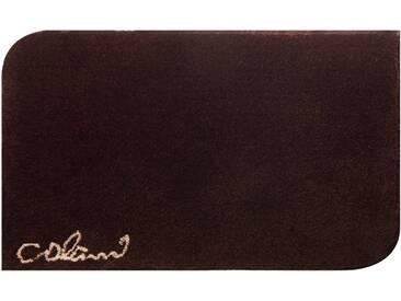 Colani Badematte » 40« , Höhe 24 mm, rutschhemmend beschichtet, fußbodenheizungsgeeignet, braun, 24 mm, braun