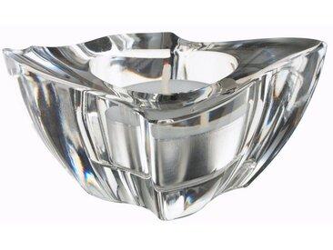 Villeroy & Boch Teelichthalter 2 Stück »NewWave«, 80x80x52mm, klar