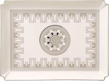 Villeroy & Boch große Deko-Schale »La Classica Contura Gifts«, silberfarben, 28x21cm, silber/platin