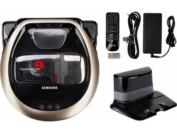 Samsung Saugroboter POWERbot VR7000 VR2DM7060WD/EG, 130 Watt, beutellos, Appfähig, goldfarben, goldfarben-schwarz