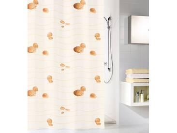 Kleine Wolke KLEINE WOLKE Duschvorhang »Miami«, 120 cm Breite, natur, beige