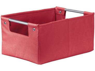 Kleine Wolke KLEINE WOLKE Aufbewahrungsbox »Gastona Box M«, B/H/T: 20 x 14 x 28 cm, rot, rot