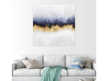 Posterlounge Wandbild - Elisabeth Fredriksson »Sky«, weiß, Holzbild, 70 x 70 cm, weiß