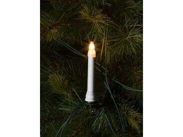 KONSTSMIDE Konstsmide Baumkette, Topbirnen, One String, weiß, Lichtquelle Klar, weiß