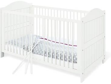 Pinolino® Pinolino Kinderbett »Nina«, weiß, weiß lasiert