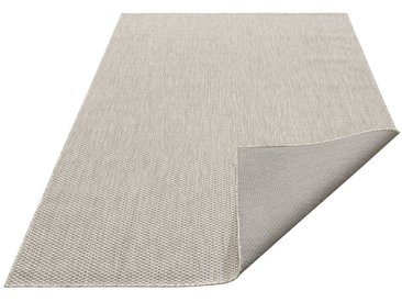 my home Teppich »Rhodos«, rechteckig, Höhe 3 mm, In- und Outdoor geeignet, Sisaloptik, grau, 3 mm, grau