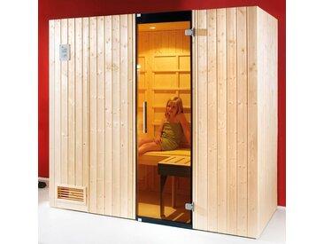 weka WEKA Set: Infrarotkabine »Alaro«, 212x121x199 cm, natur, inkl. Saunaofen, natur, natur