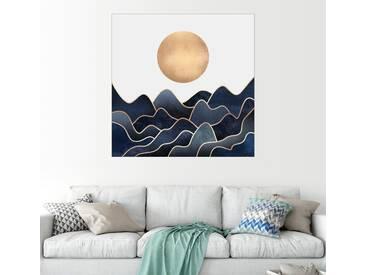 Posterlounge Wandbild - Elisabeth Fredriksson »Waves«, weiß, Forex, 30 x 30 cm, weiß