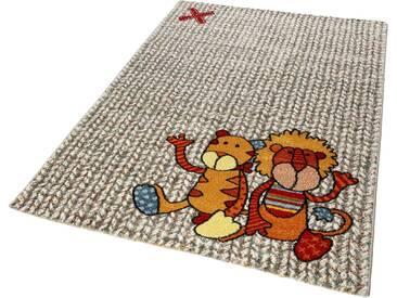 Sigikid Kinderteppich »Patchwork Sweetys«, rechteckig, Höhe 13 mm, natur, 13 mm, beige-multi