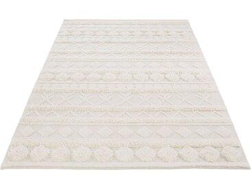 LUXOR living Wollteppich »Hägga«, rechteckig, Höhe 15 mm, Handwebteppich aus 100% Wolle