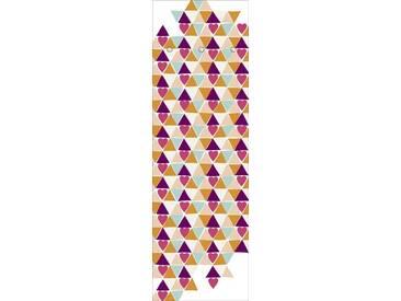 Artland Wandgarderobe »Jule: Herzen«, rot, 140 x 45 x 2,8 cm, Rot