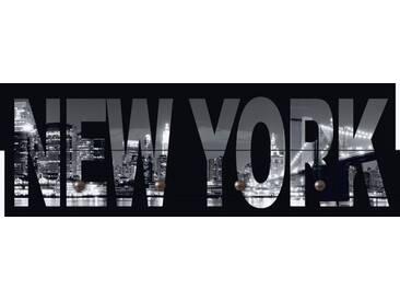 Artland Wandgarderobe »Jule: New York«, weiß, 30 x 90 x 2,8 cm, Weiß
