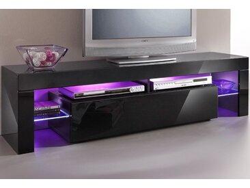 borchardt Möbel TV-Board, Breite 151 cm, schwarz, schwarz