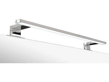 ADOB LED-Aufsatzleuchte »Spiegelleuchte«, 60 cm, silberfarben, eckig, silberfarben