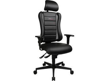 TOPSTAR Bürostuhl »Sitness RS«, schwarz, schwarz/schwarz
