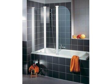 Schulte SCHULTE Badewannenaufsatz »Wega«, silberfarben, alufarben